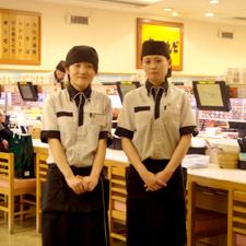 新鮮なお寿司をお召し上がり下さい