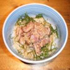 鶏のたたき丼